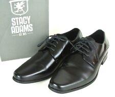 Stacy Adams Men's Oxford Dress Shoes 9 Black Business Cap Toe Leather NEW #1008