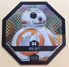 STAR WARS ROGUE ONE Jeton 02 BB 8 Droïde Cosmic Shells E.Leclerc DISNEY  Image