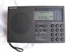 Used RADIO SHACK DX-375 AM/SW/FM PLL Synthesized Receiver (20-212A)