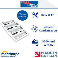 10x Manthorpe Felt Lap Vent   Roof Ventilation   Cures Loft Condensation   G630