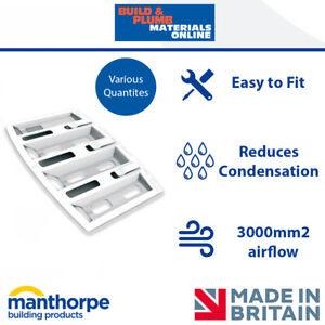 10x Manthorpe Felt Lap Vent | Roof Ventilation | Cures Loft Condensation | G630