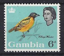 Mint Hinged Elizabeth II (1952-Now) Gambia Stamps (Pre-1965)