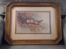 Homco Margie Morrow Print,Robbins Framed Matted Under Glass