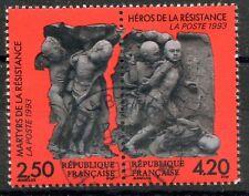 STAMP / TIMBRE FRANCE OBLITERE N° 2813A  EN PAIRE MARTYRS ET HEROS