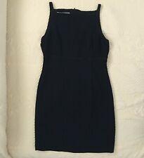 Jones New York Dress Petite Women's Size 6P Black Open Back #118