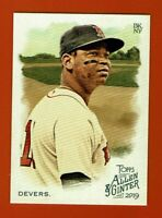 2019 Topps Allen & Ginter Rafael Devers #97 Boston Red Sox