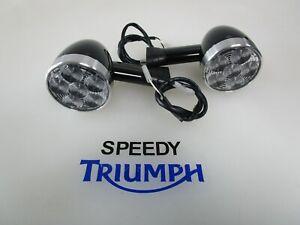 TRIUMPH BOBBER SPEEDMASTER LED FRONT INDICATORS 64MM DIAMETER A9838049