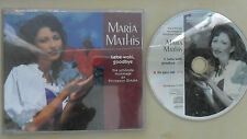 Maria Mathis/Lebe wohl, goodbye 2 Tracks/MCD