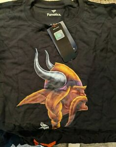 Minnesota Vikings NFL Pro Line Fanatics Branded Personalized Midnight Mascot 48