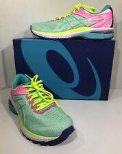 Asics Women GT-2000 8 Women's Size 10 Aqua Pink Athletic Running Shoes ZC-304