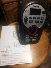 Roland TD-11   Drum Sound Module mit Netzteil und Beschreibung