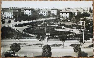 Yeni Sehir / Yenişehir, Ankara, Turkey 1940 Realphoto Postcard