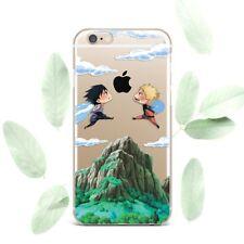 Cute Naruto Sasuke Anime Silicone Soft Rubber Case Cover Back For Apple iPhone