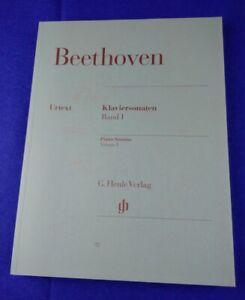 Ludwig van Beethoven: Sonaten für Klavier, Klaviersonaten Band I, Henle Verlag