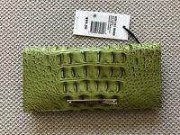 Brahmin ADY Wallet AVOCADO Melbourne Bi-Fold Genuine Leather~Pretty & NWT!