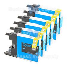 6 CYAN LC71 LC75 Compatible Ink Cartirdge for BROTHER Printer MFC-J435W LC75C