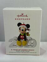 2019 Hallmark Keepsake Ornament - Disney - Mickey Mouse - A Year of Disney Magic