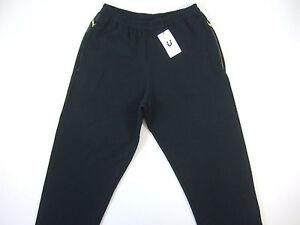 U CLOTHING BLACK LARGE LOUNGE STRETCH DRAW STRING PANTS MENS NWT NEW