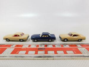 CK884-0, 5 #3x wiking H0 / 1:87 Car Mercedes-Benz/MB 350 Sl, Mint