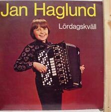 JAN HAGLUND lordagskavall LP Mint- LB LP 1009 Vinyl  Record