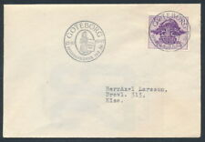 Sweden Scott 366 or Facit 363A, 10ö violet Savings on small First Day Cover FDC