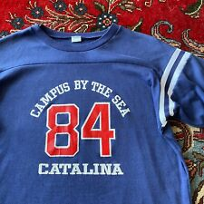 Vtg 1984 Los Angeles Summer Olympic Games Catalina Island Shirt Cotton Jersey
