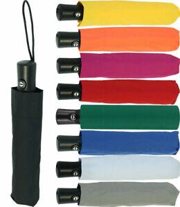 Regenschirm Mini Taschenschirm Damen-Herren Auf-Zu-Automatik klein leicht stabil