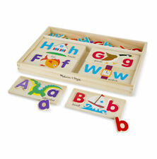Melissa & Doug - ABC Wooden Picture Boards