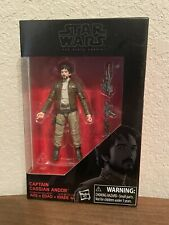 """Star Wars The Black Series 3.75"""" Rogue One Captain Cassian Andor New In Box"""