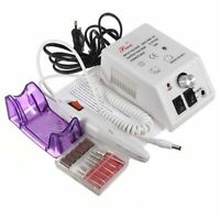 220V Pro Electronic Drill Nail Art Machine Manucure Pédicure Kit Set