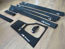 BMW E39 M5 5 SERIES INTERIOR TRIM  ///M PERFORMANCE ALCANTARA FACTURE HASSLLA