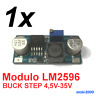 1x Modulo Alimentacion DC LM2596 Regulable - DC BUCK STEP DOWN