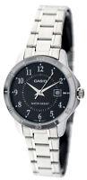 Casio Women's Analog Quartz Stainless Steel Watch LTPV004D-1B