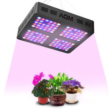 600 W 120 DEL Grow Lights Full Spectrum Veg Bloom Indoor Usine Garantie 3 An