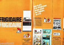 PUBLICITE ADVERTISING 066  1967   Frigidaire  cuisinière lave vaisselle (2p)  ma