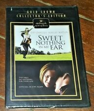 Sweet Nothing in My Ear (DVD, 2008, Hallmark) Jeff Daniels & Marlee Martin!