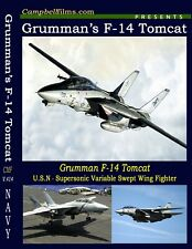 Navy's Grumman F-14 Tomcat Aircraft - The Supreme Superiority Fighter - films