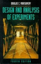 Design and Analysis of Experiments, 4th Edition, Douglas C. Montgomery, Good Con