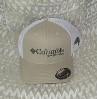 Columbia PFG Mesh Bass Ball Cap FOSSIL  L/XG   New with Tags