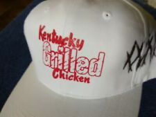 Kentucky Grilled Chicken Hat in White & Red Kfc Fried Never Worn