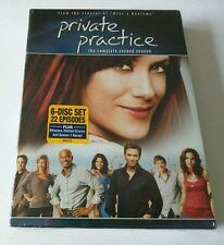 """Private Practice the Complete Second Season (DVD, 2009, 6-Disc Set) """"NEW"""""""