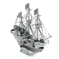 Fascinations Metal Earth Golden Hind Ship 3D Laser Cut Steel Puzzle Model Kit