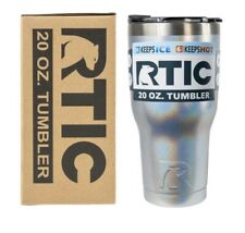 RTIC Tumbler 20oz Vacuum Insulated Double Wall Rambler TWILIGHT Glitter CUP NEW