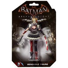 "Harley Quinn Batman Arkham Knight Bendable Figure DC Super Hero 5.5"" Gotham"