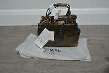 Zara Nylon Ochre City Bag