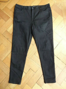 (206MAY) Size 16R *M&S* Cute black stretch skinny jeans ladies/womens