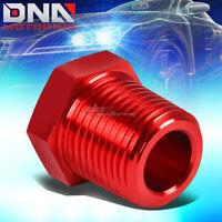 """GAR-7122PHN2 Chrome 1//8/"""" NPT  to 1//8/"""" NPT Brass Male Pipe Thread Fitting Coupler"""