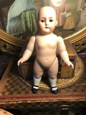 """~ Amazing Size! Antique 10"""" German All Bisque #329 Child Doll w/Open Close Eyes"""