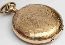 Pocket Watch - Excellent Condition 1897 Waltham Hunting Case Ornate Antique