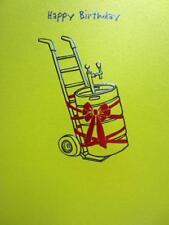 """I Hope It's the Right Size!"" A* Avanti Press FUNNY BIRTHDAY CARD Beer Keg"